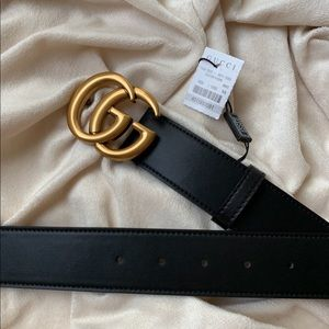 üNew Gucci Belt Áùthéntïć Double G Marmot